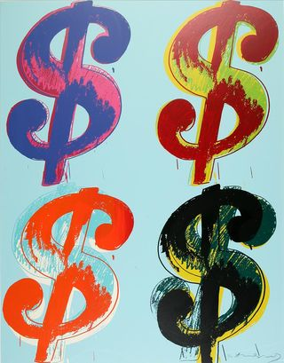Warhol Four Dollar CB
