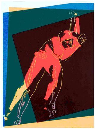Warhol Speed Skater