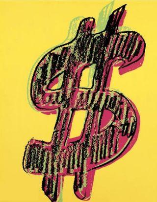 Warhol 1$ 280 yellow