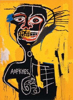 Basquiat Cabeza 400