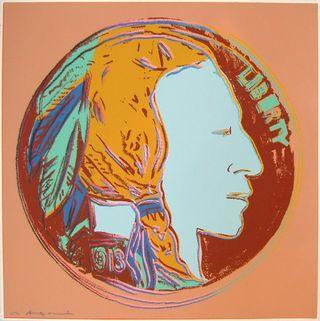 Warhol Indian Head Nickel TP27