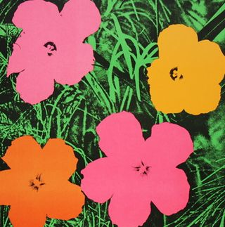 andy warhol his flower prints from 1964 1983 henry on pop art