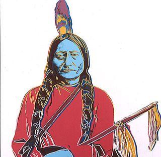 Warhol Sitting Bull