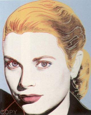 Warhol Grace Kelly