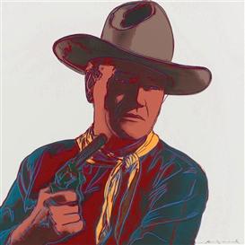 Warhol John Wayne 18