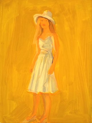 Katz Woman in Dress