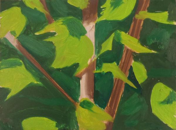Katz Acrylic leaves