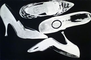 Warhol Shoe Unique