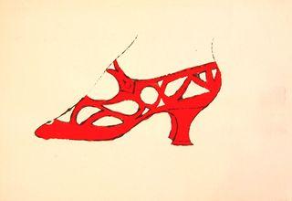 Warhol Shoe 55