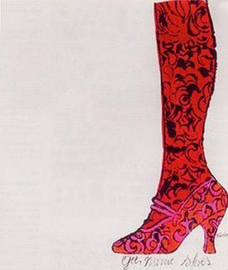 Warhol Gee Merrie Shoe