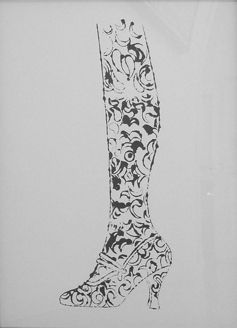 Warhol Shoe & Leg