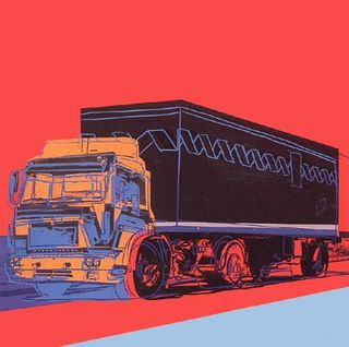 Warhol Truck Red