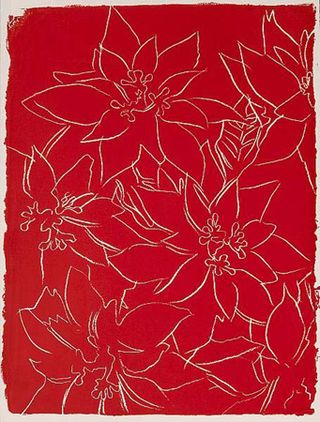 Poinsettias, (RED)