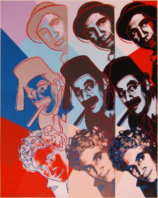 Warhol Jews Marx Brothers