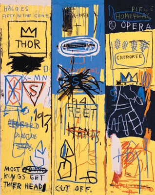 Basquiat Charles the First