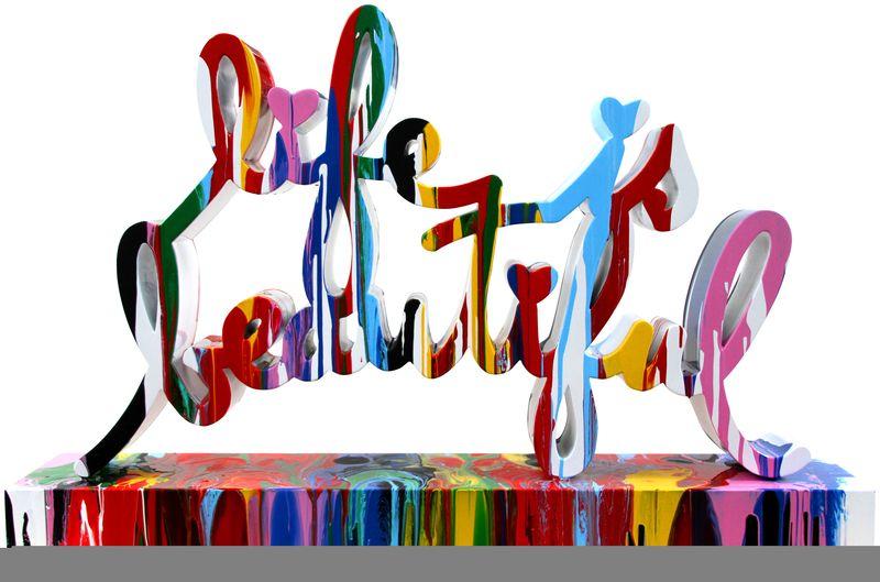 MrBrainwashLifeisBeautifulsculpture_multi_color