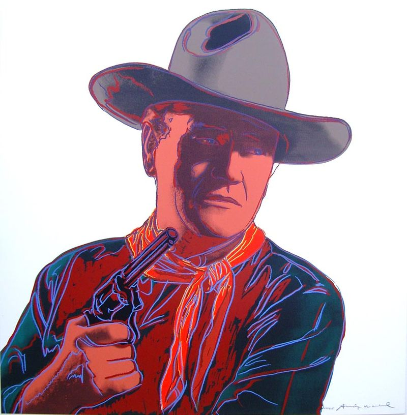 Warhol John Wayne 60