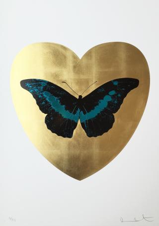 I Love You_Gold Leaf_Black_Turquoise_LR