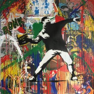 Banksy Thrower_LR